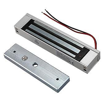 """מנעול אלקטרומגנטי מגנטי חשמלי 12v עם דלת יחיד חדשה 12v 180 ק""""ג (350 ליברות)"""