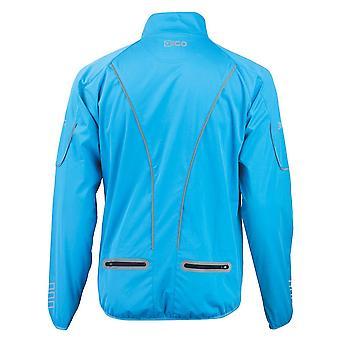 Eigo Mistral Windproof Cycling Jacket Sky Blue