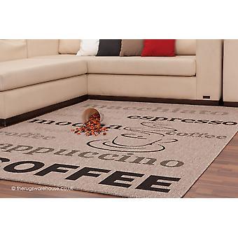 Tapis argent café