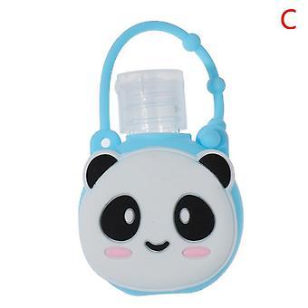 Fruit Food Silicone Mini Hand Sanitizer Holder, Travel Portable Safe Gel,