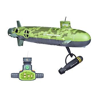 Kaikkialla läsnä kaukosäädin Seawolf Päivitys versio Rc Iso Sukellusvene Lelu