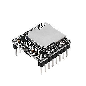 Moduł Dfplayer, płyta modułu głosowego audio, dekodowanie Mp3, Wav, Wma's, dla Arduino