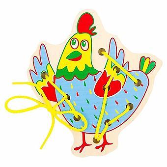 "Alatoys Wooden  Lacing ""Chicken"""