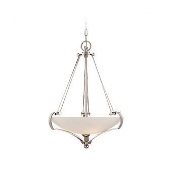 Lámpara Colgante Sutton, Plata Imperial