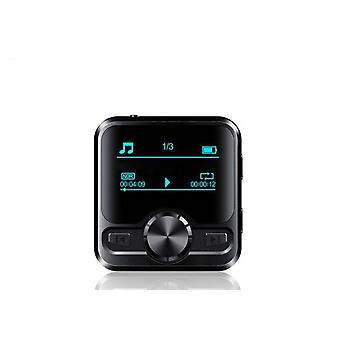 Sports Bluetooth Mp3 Player, Earphone Voice Recorder 1.2 Inch Display