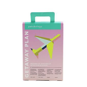 Getaway plan weekend(er) skincare kit: illuminating eye gels + aromatherapy eye gels + hydrate sheet mask + lluminate sheet mask 258693 4pcs