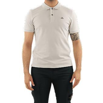 C.P.Company Polo - Short Sleeve Beige 10CMPL067005263W906 Top