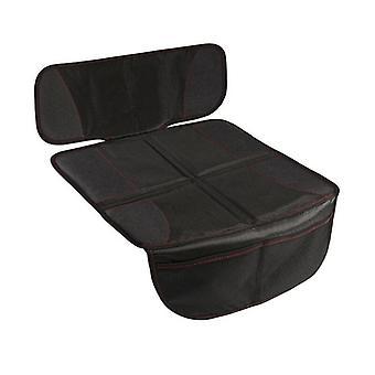 Automaattinen turvaistuimen suojus suurella taskulla Ultra Mat Pad (musta)
