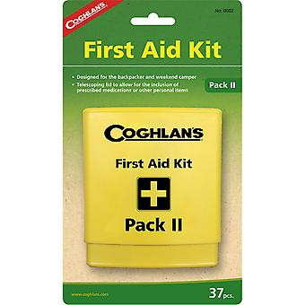 Coghlan's Pack II First Aid Kit, 37 Pieces, Water-Resistant Outdoor RV Camp Set