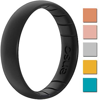 Enso Rings Thin Elements Series Silicone Ring