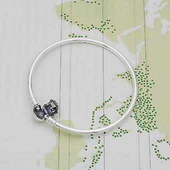 Silver Serpentine Chain Bracelet