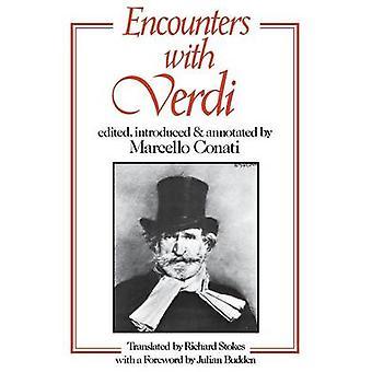 Encounters with Verdi by Marcello Conati - 9780801494307 Book