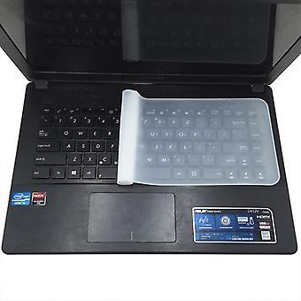 Waterdichte laptop toetsenbord beschermende siliconen transparante beschermende film