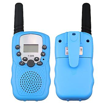 2pcs 3-5km rekkevidde toveis walkie talkies radio interphone leketøy