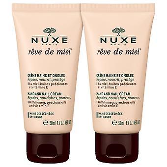 Nuxe Reve Honing Handcrème 2x 50 ml