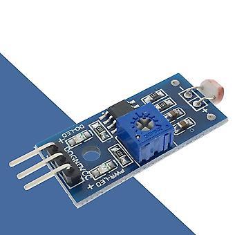 Sensormodul for lysfølsom lysstyrkemotstand
