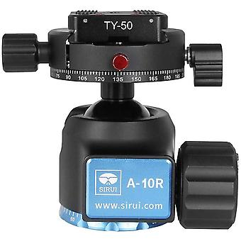 DZK A-10R Ball Head Low-Profile Stable Professional Ball Head for Tripod, Cameras, Camcorder,