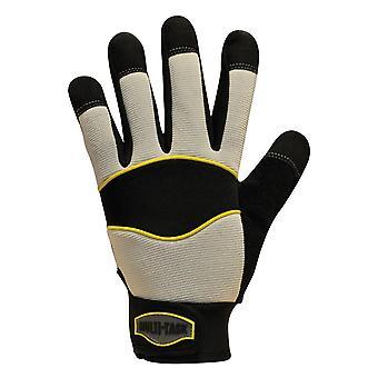 POLYCO MT5/10 Multi-Task 5 pelli sintetiche PVC interna con guanti 10 Palma