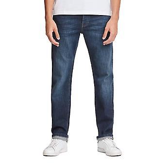 Weekend Offender 444 Tapered Fit Jeans - Dark Vintage