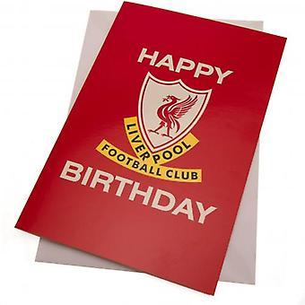 Cartão de aniversário de Liverpool Liverbird