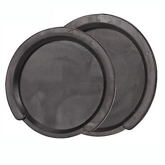 Sound Hole Block Rubber Electric Box Guitar Buster Prevention Black 41-42inch
