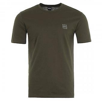 Boss Oranssi Hugo Boss Tales Tavallinen T-paita Military Green 342 50389364