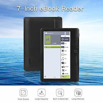 Přenosná čtečka E-knih 8gb 7inch Multifunkční E-čtečka Podsvícení Barevný Lcd