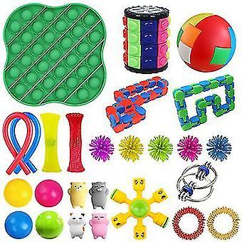 Style2 stres relief jucării de mână pentru adulți copii adhd adăuga anxietate autismperfect pentru ziua de nastere favoruri x7760