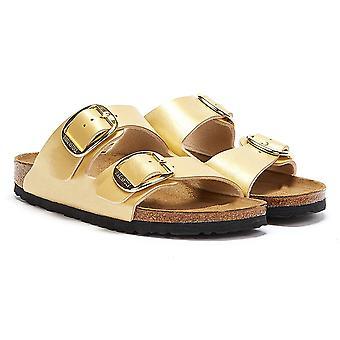 Birkenstock Arizona Big Buckle Graceful Womens Gold Sandals