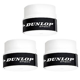 Dunlop, 3x Overgrips - Tour Pro - Hvit