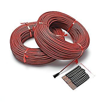 Vloer warme verwarming kabel koolstofvezel verwarming draden verwarming draad spoel
