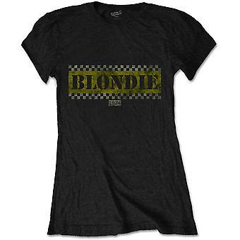 Blondie - Taxi Women's Small T-Shirt - Black