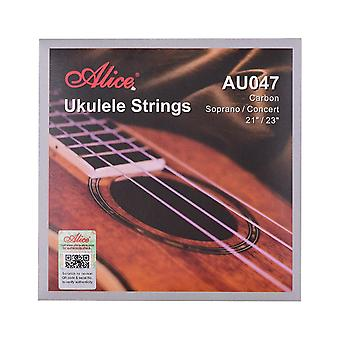 Ukulele strings carbon soprano concert string set for from 21 inch to 23