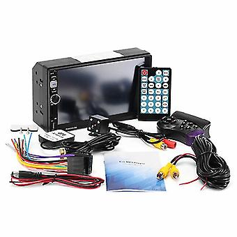 7'' GPS HD MP3 MP5 -soitin Stereoradio bluetooth FM RDS Quick Charge Mirror Link Cam