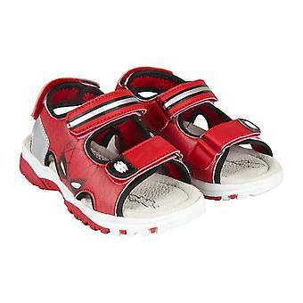 Children's sandals Spiderman 73649 Red