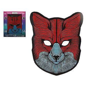 マスク LED ウルフ