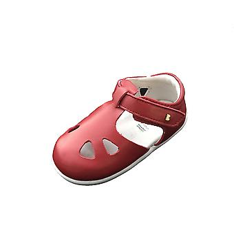 Bobux step up red zap quick dry sandals