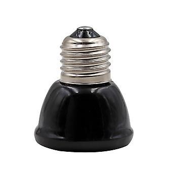 Pet Reptile Дальняя инфракрасная керамическая нагревательная лампа, мини-лампа теплоизлучателя
