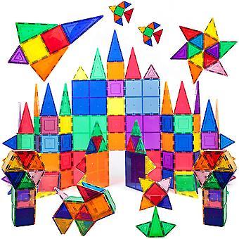 100ks Magnet Stavební dlaždice Jasné 3D stavební bloky Stavební bloky