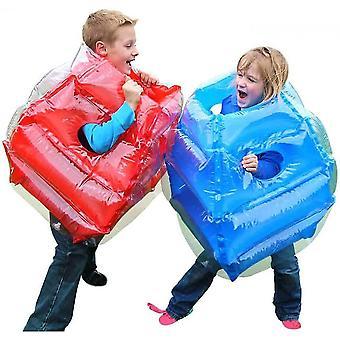 2 stuks opblaasbare lichaam bubble bal Sumo bumper Bopper speelgoed