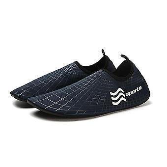 Man Woman Water Sneakers, Slip-on Beach Sneakers