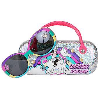 Disney Minnie egér unikornis gyerek napszemüveg fogantyú hordozó tasak