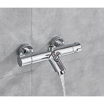 الحنفيات 1pcs الحرارة حوض الاستحمام صنبور الساخنة والباردة صمام خلاط الحمام