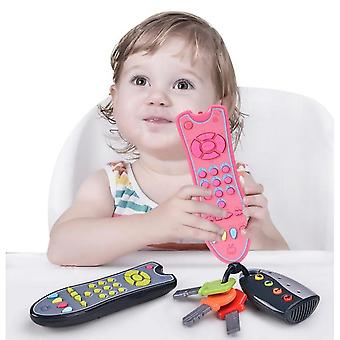Kids Musical Tv Remote Control Toy With Light And Sound