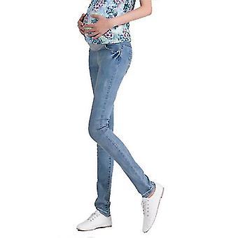 Elastisk Midje Fødselspermisjon Jeans Bukser -klær For Gravide
