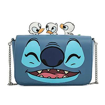 Loungefly Crossbody Bag Lilo And Stitch Duckies new Official Disney Blue