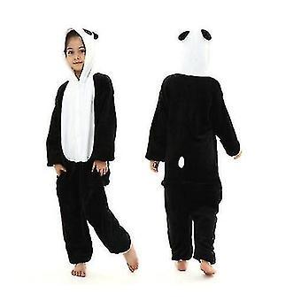 Panda Kids Kigurumi Pajamas Boys Pajamas Girls Jumpsuits Baby Jumpsuits (130cm)
