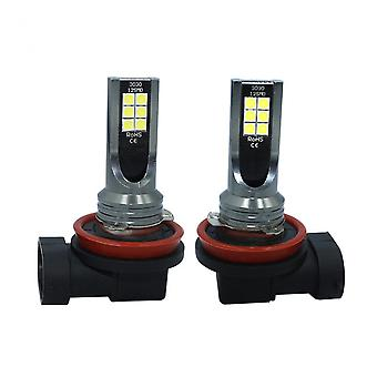 Car Led Fog Lights Practical Auto Accessories Easy Installation Universal For H1