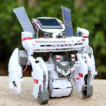 7 in 1 ruimte vloot speelgoed diy educatieve zonne-energie speelgoed voor kinderen
