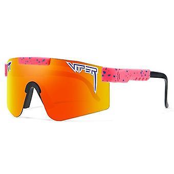 Pit-vipera UV400 Outdoor Movement Cycling Futás Polarizált napszemüveg férfiaknak